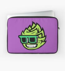 cool smiling brewing mascot Laptop Sleeve