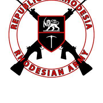 Rhodesian Army FN FAL by 5thcolumn