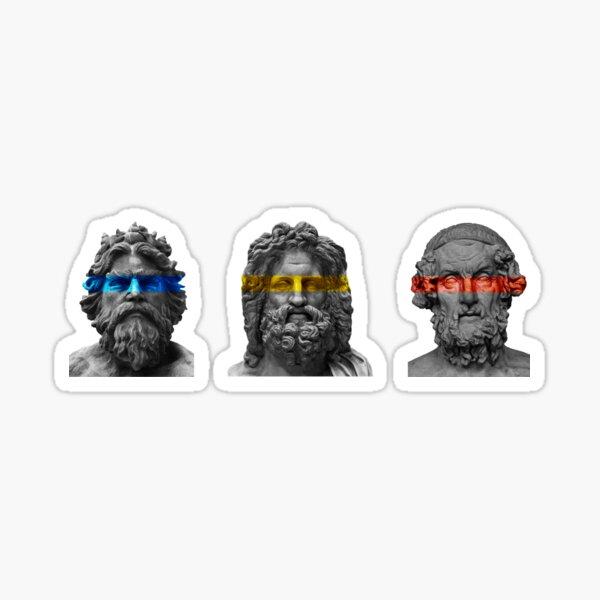The Three Brothers Sticker