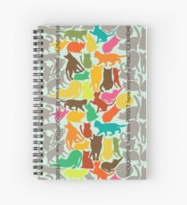 Cats Giving Advice Spiral Notebook
