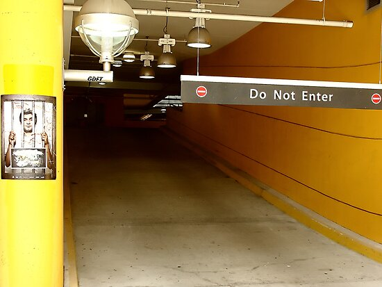 Do Not Enter by RobertCharles