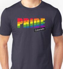 Gay Pride Colorado T-Shirt Unisex T-Shirt