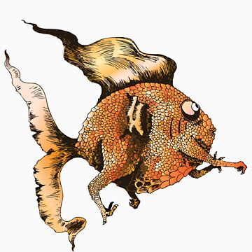 goldfish by pidgenhorn