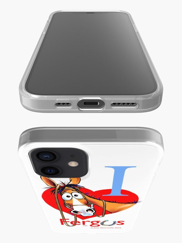 "Alternate view of Fergus the Horse: ""I <3 Fergus"" iPhone Case & Cover"