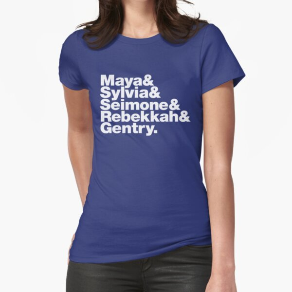 Minnesota Lynx ampersand T-shirt: Maya&Sylvia&Seimone&Rebekkah&Gentry. Fitted T-Shirt