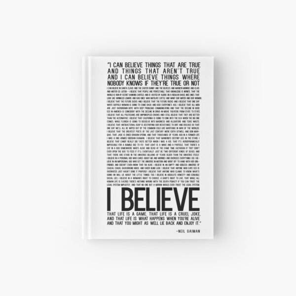 Believe -  QuotesWeLove Hardcover Journal