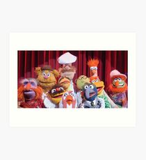 Gang of the puppets Art Print
