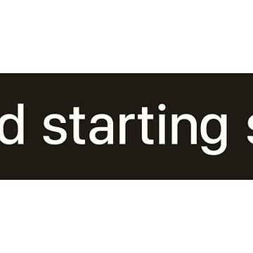 Ad Starting Soon by greenstdesign