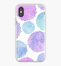 Watercolor Blooms iPhone Case