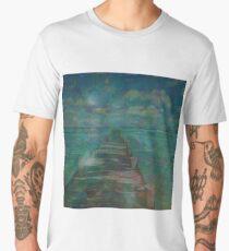 3s30pia19836 HD Star Dock Men's Premium T-Shirt