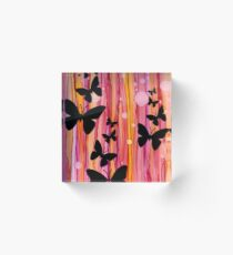 Schmetterling Acrylic Block