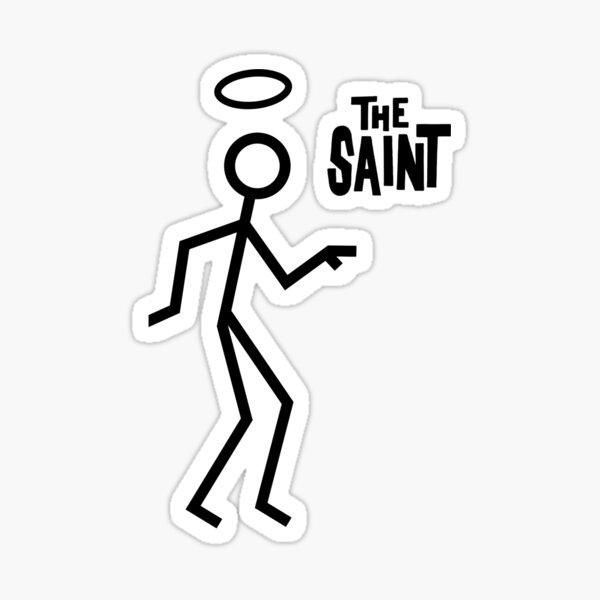 THE SAINT 1 Sticker