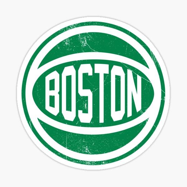 Boston retro Ball 2 Sticker