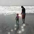 A walk with mom by tabusoro