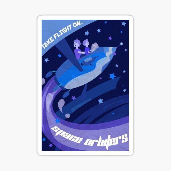 Space Orbiters  Sticker