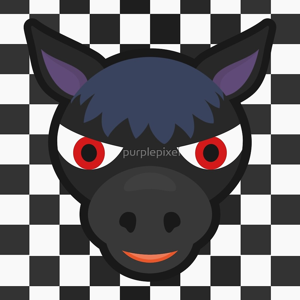 ROSCOE ANIMAL CROSSING by purplepixel