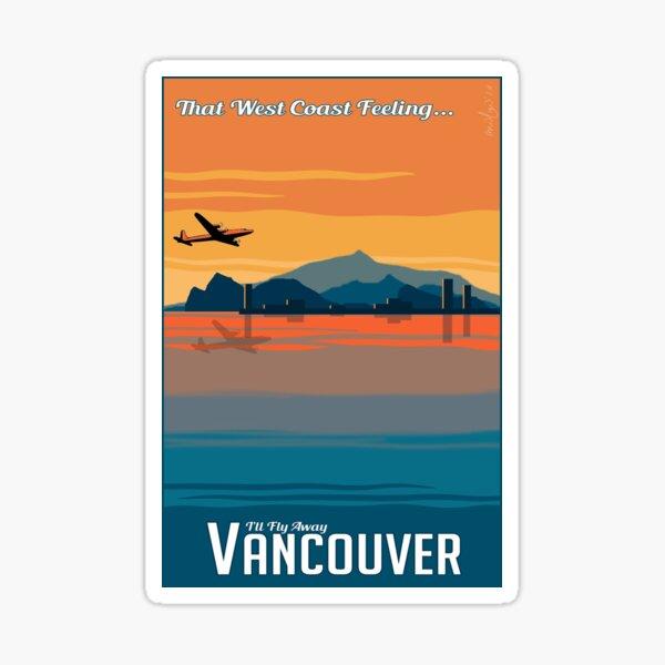That West Coast Feeling Sticker