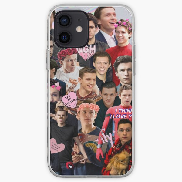 Tom Holland Collage iPhone Soft Case