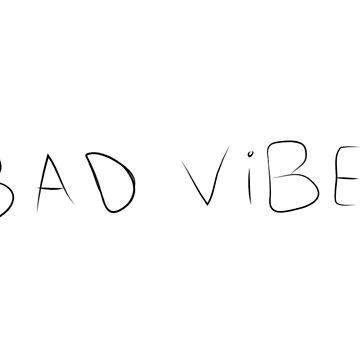 XXX - Bad Vibes Face Tattoo by aprilkristiine
