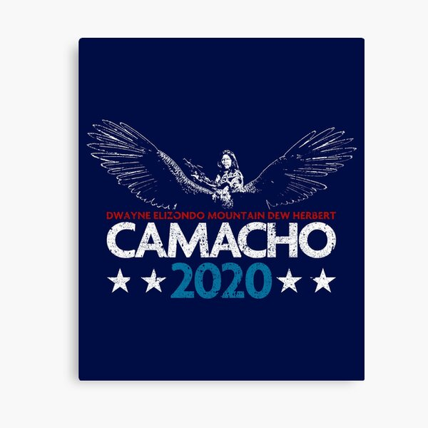 Camacho 2020 Canvas Print