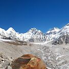Himalayan Skyline by laurette