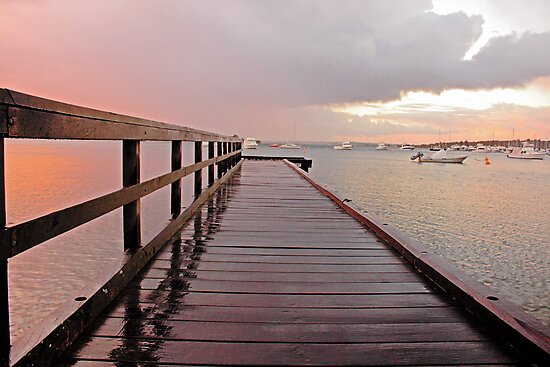 Sunrise On The Jetty  by EOS20