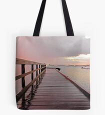 Sunrise On The Jetty  Tote Bag