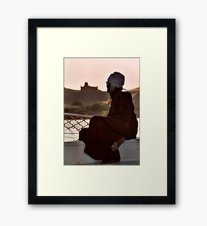 Nubian Man Framed Print