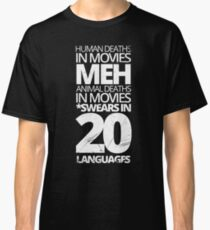 Movie Deaths Facts Classic T-Shirt