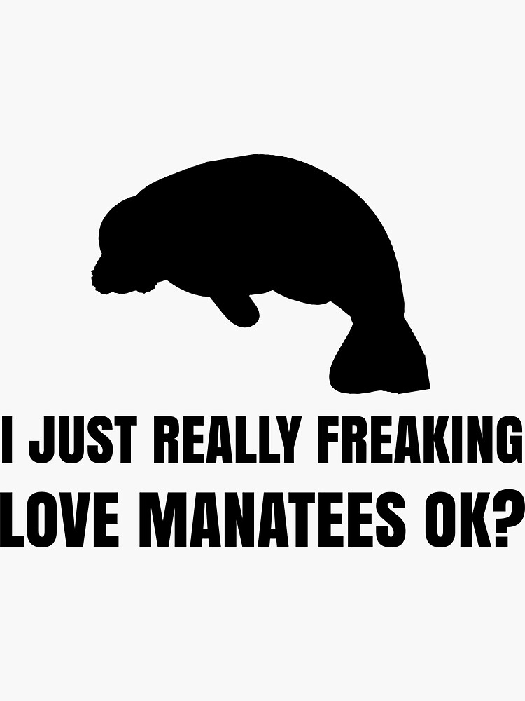 Funny Manatee Lover Shirt Gift for Men Women by jcorres