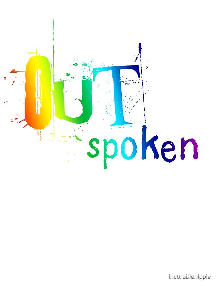 OUTSpoken Rainbow Artwork by incurablehippie