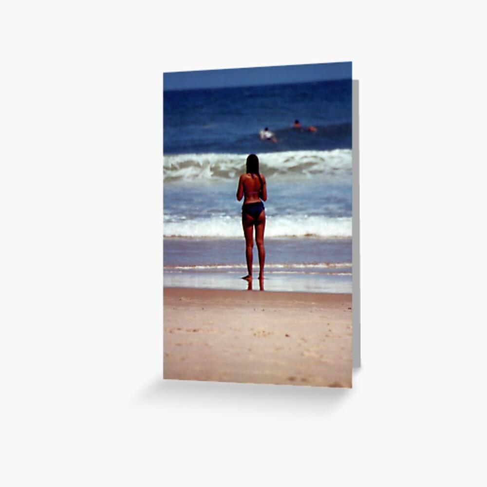 Girl from Ipanema Greeting Card