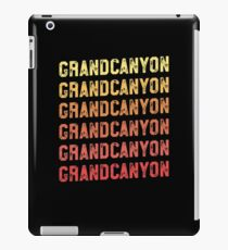 Grand Canyon TShirt - Retro Vintage Arizona Vacation iPad Case/Skin