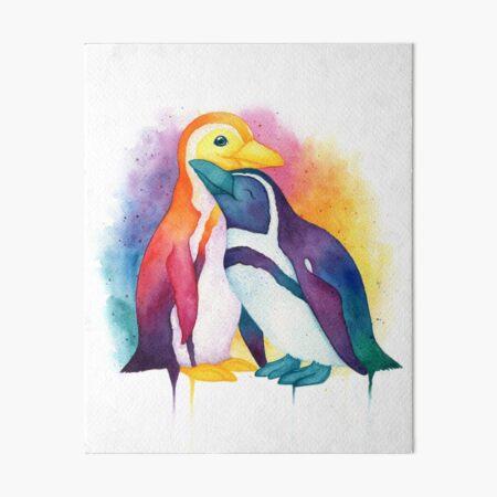 Pride Penguins - 2018 Art Board Print