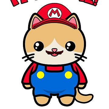 Funny Cute Cat Kawaii Mario Parody by awesomekawaii