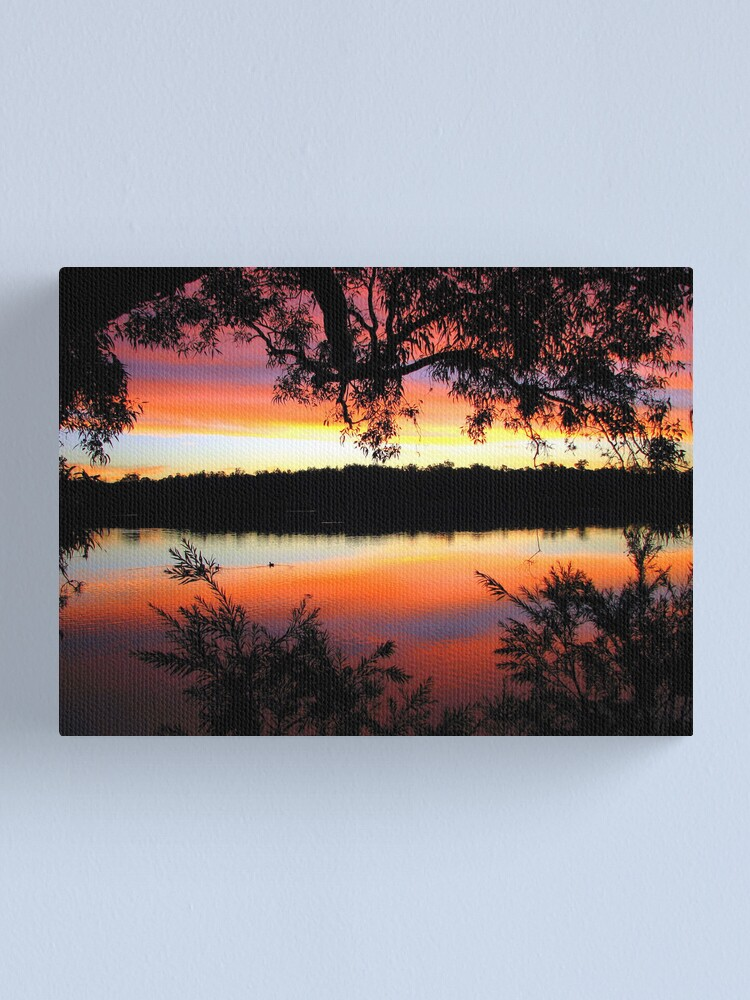 Alternate view of Crimson Canvas Print