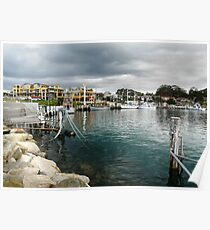 Huskisson Harbour Poster