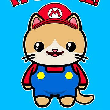 Cute Cat Funny Kawaii Mario Parody by awesomekawaii