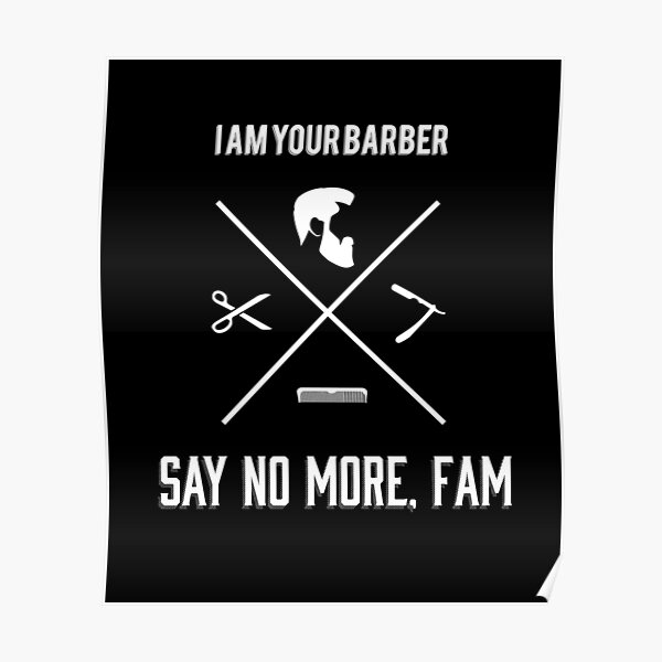 Personal Barber Poster