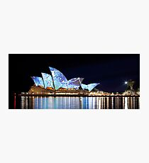 Sydney Opera House in Colour, June 2009. Photographic Print