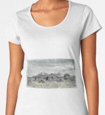 Old farm 0694. Women's Premium T-Shirt