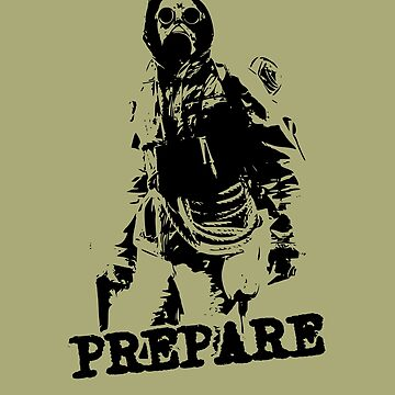 prepare preppers survival shirt by bumblethebee