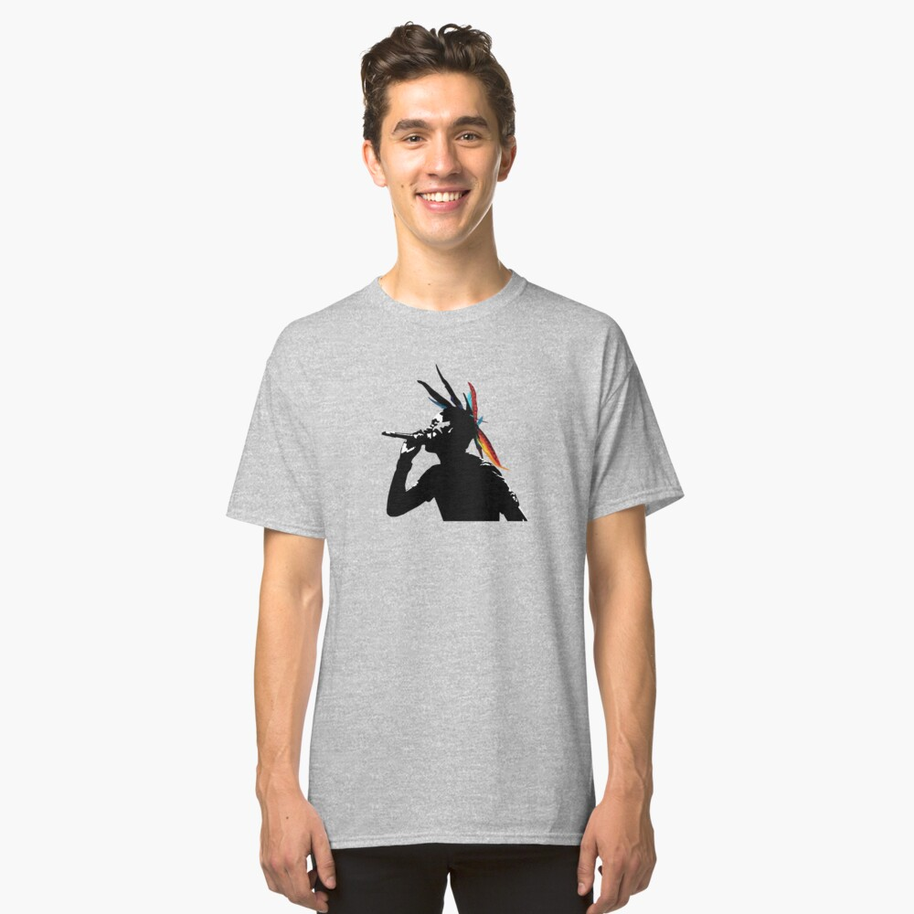 Saul Williams Classic T-Shirt Front