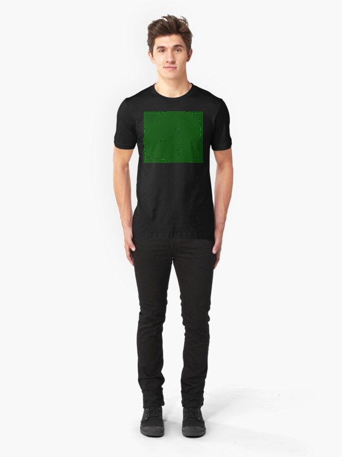 Alternate view of Chickenfeet - Green Slim Fit T-Shirt