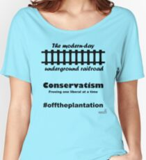 WazUp! - Off the Plantation Women's Relaxed Fit T-Shirt