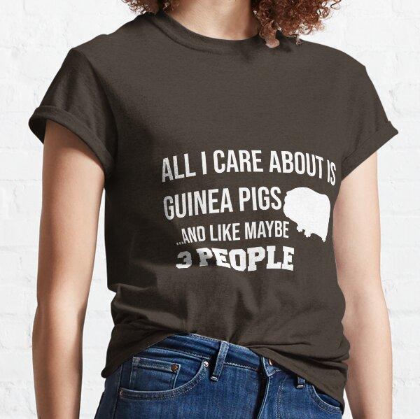 Cute Guinea Pig Lover Shirt for Men Women Classic T-Shirt