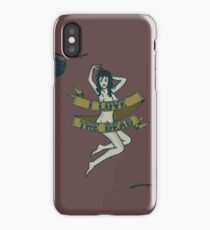 I Love The Dead iPhone Case