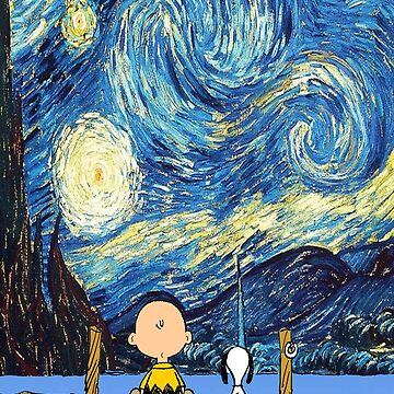 Snoopy Starry night by DgVisuals