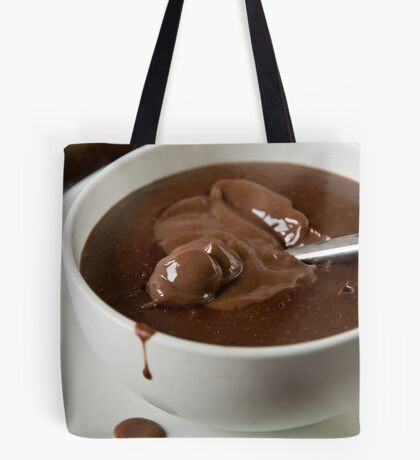 A cup of chocolate Tote Bag