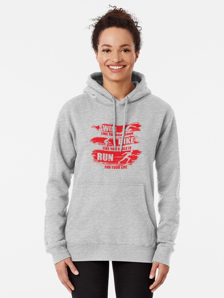 Flawless Sinceng Womans Sports Drawstring Hooded